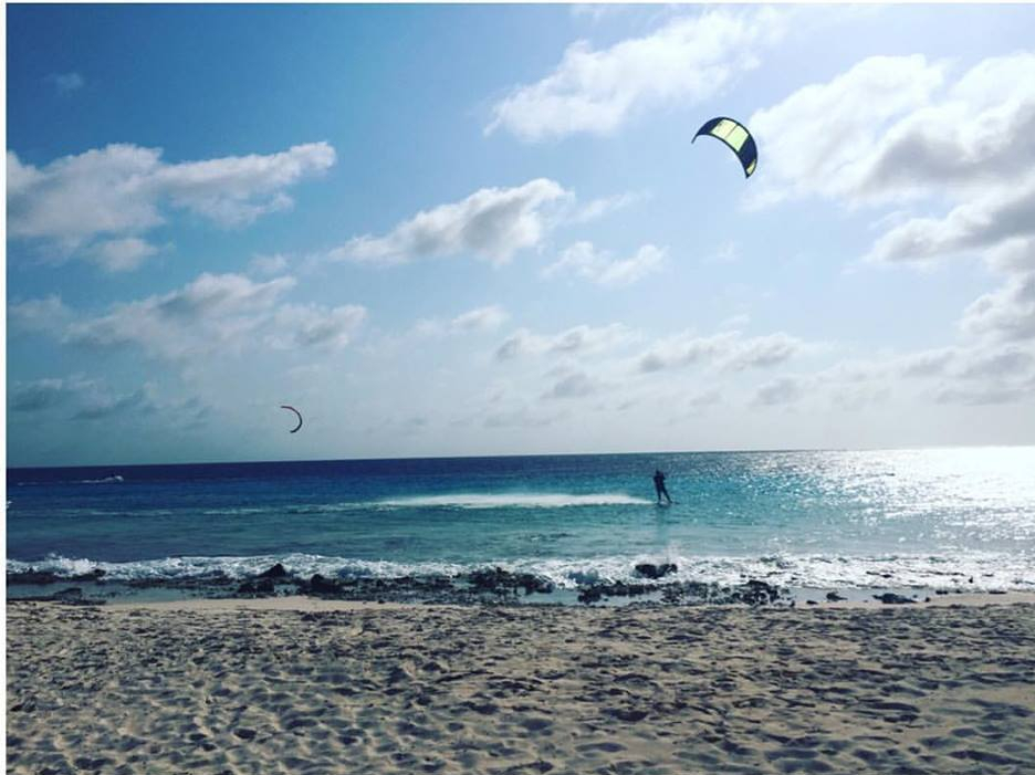 Paperbeau - Kitesurfing
