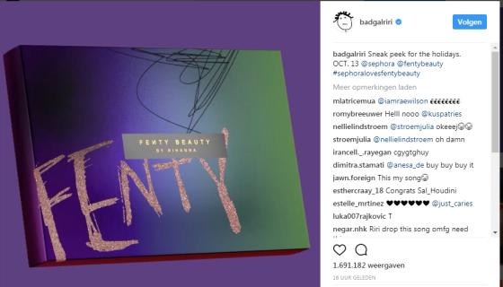 Rihanna instagram l Paperbeau